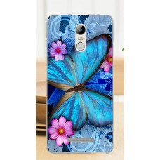 Чехол-бампер для XiaoMi Redmi Note 3/3 Pro (Яркая бабочка)