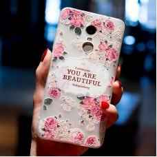 Чехол-бампер для XiaoMi Redmi Note 4X (Beautiful)