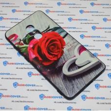 Чехол-бампер для XiaoMi Redmi Note 4X (Красная роза)