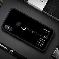 Чехол для XiaoMi Redmi Note 5 (Человек на луне)