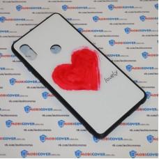 Стеклянный чехол для XiaoMi Redmi Note 5 (Lovely)