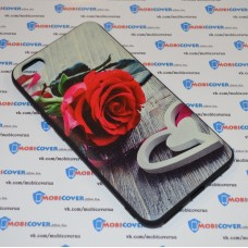 Чехол-бампер для XiaoMi Redmi Note 5A (Красная роза)