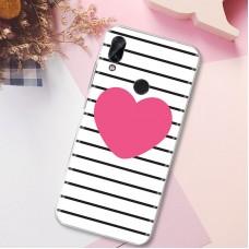 Чехол для XiaoMi Redmi Note 7 (Большое сердце)