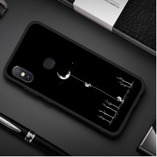 Чехол для XiaoMi Redmi Note 7 (Человек на луне)