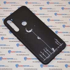 Чехол для XiaoMi Redmi Note 8 (Человек на луне)