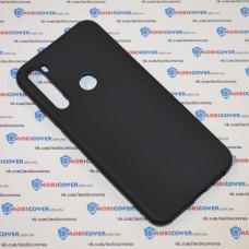 Чехол для XiaoMi Redmi Note 8 (Черный силикон)