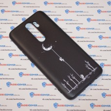 Чехол для XiaoMi Redmi Note 8 Pro (Человек на луне)