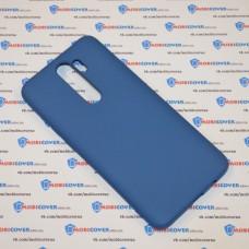 Чехол Slim Soft для XiaoMi Redmi Note 8 Pro (Синий)