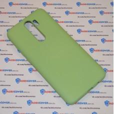 Чехол Slim Soft для XiaoMi Redmi Note 8 Pro (Салатовый)