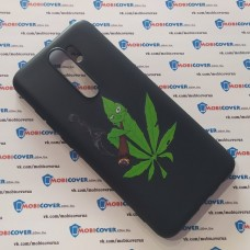 Чехол для XiaoMi Redmi Note 8 Pro (Smoke Marijuana)