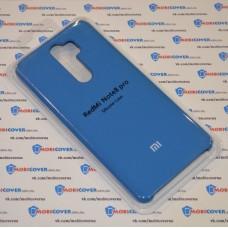 Чехол Soft touch для XiaoMi Redmi Note 8 Pro (Голубой)