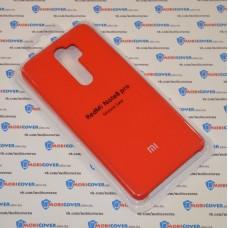 Чехол Soft touch для XiaoMi Redmi Note 8 Pro (Красный)