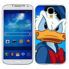 Чехол-бампер для Samsung Galaxy S4 (Дональд Дак)