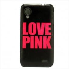 Чехол-бампер для Lenovo S720 (Love pink)