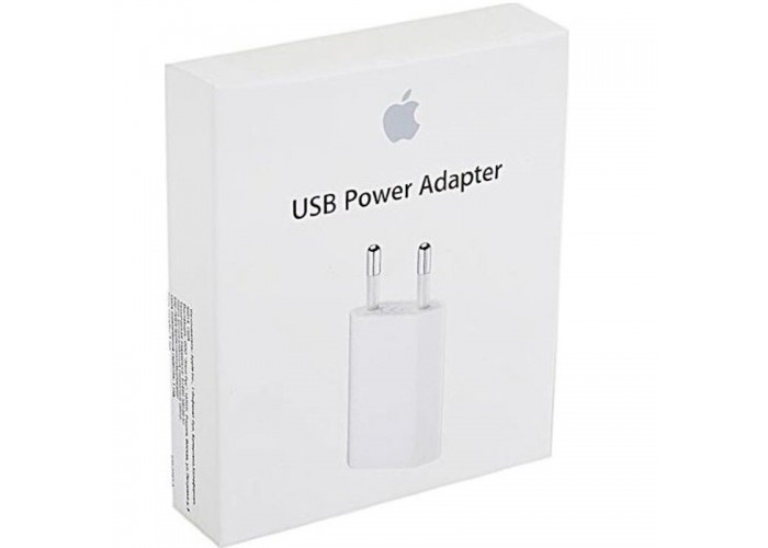 Сетевое зарядное устройство Apple iPhone / iPod 5W 1A USB Power Adapter (MD813ZM/A)