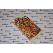 Чехол-бампер для Meizu U10 (Леопард)