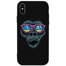 Чехол Горилла в очках для iPhone X/XS