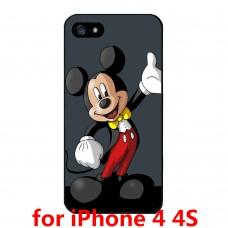 Чехол-бампер для iPhone 4/4S (Микки Маус)