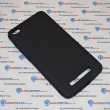 Чехол-бампер для XiaoMi Redmi 4A (Черный силикон)