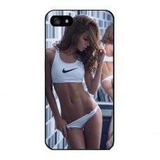 Чехол-бампер для iPhone 5/5S (Nike)
