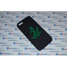 Чехол-бампер для iPhone 5/5S (Smoke Marijuana)