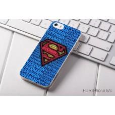 Чехол-бампер для iPhone 5/5S (Супермен)