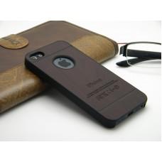 Чехол-бампер для iPhone 5/5S (Древесина) (Несколько цветов)
