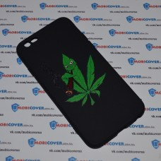 Чехол-бампер для iPhone 6/6S (Smoke Marijuana)