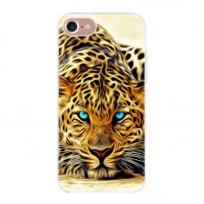 Чехол-бампер для iPhone 7/8 (Леопард)
