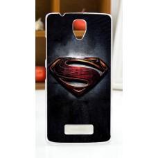 Чехол-бампер для Lenovo A2010 (Супермен)