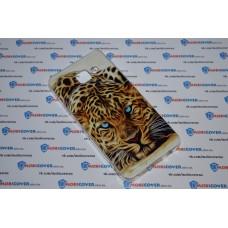 Чехол-бампер для Samsung Galaxy A3 / A310 (Леопард) (2016)
