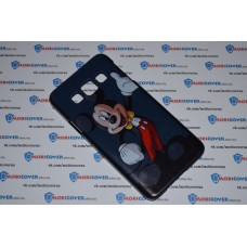Чехол-бампер для Samsung Galaxy А3 (Микки Маус) (2015)
