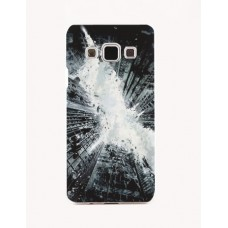 Чехол-бампер для Samsung Galaxy А5 (Небоскребы) (2015)