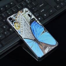 Чехол-бампер для Lenovo A7000 (К3 Note) (Бабочка)
