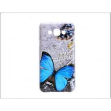 Чехол-бампер для Samsung Galaxy E7 (Бабочка)