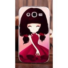 Чехол-бампер для Samsung Galaxy Grand I9082 (Девочка)
