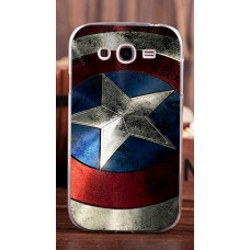 Чехол-бампер для Samsung Galaxy Grand I9082 (Капитан Америка)