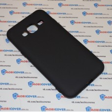 Чехол-бампер для Samsung Galaxy J3 / J320 (Черный силикон) (2016)