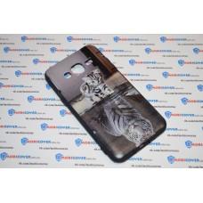 Чехол-бампер для Samsung Galaxy J3 / J320 (Отражение) (2016)