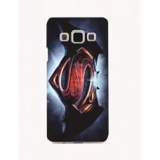 Чехол-бампер для Samsung Galaxy J5 (Супермен&Бэтмен) (2015)