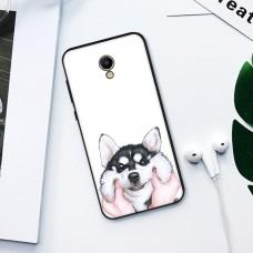 Чехол-бампер для Meizu M5 Note (Хаски)