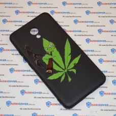Чехол-бампер для Meizu M5 Note (Smoke Marijuana)