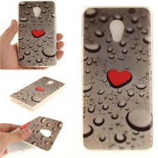 Чехол-бампер для Meizu M5 (Сердце)