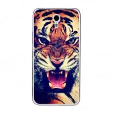 Чехол-бампер для Meizu M5 (Тигр)