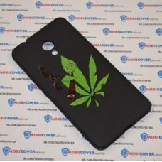 Чехол-бампер для Meizu M5s (Smoke Marijuana)
