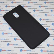 Чехол-бампер для Meizu M6 (Черный силикон)