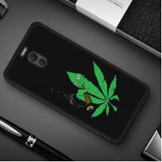 Чехол-бампер для Meizu M6 Note (Smoke Marijuana)