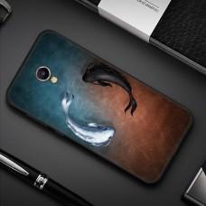 Чехол-бампер для Meizu M6 (Рыбки)