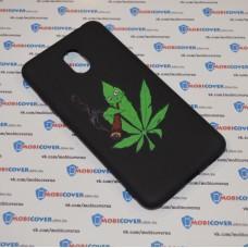 Чехол-бампер для Meizu M6 (Smoke Marijuana)
