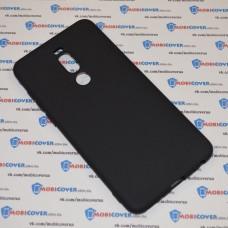 Чехол-бампер для Meizu M8 Note (Черный силикон)